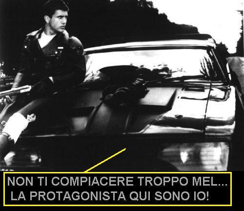 Mad Max e l'auto Interceptor