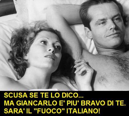 Vignetta su Jack Nicholson doppiato da Giancarlo Giannini