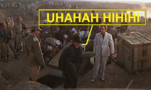 Risata di Toth, il nazista nel film i predatori dell'arca perduta