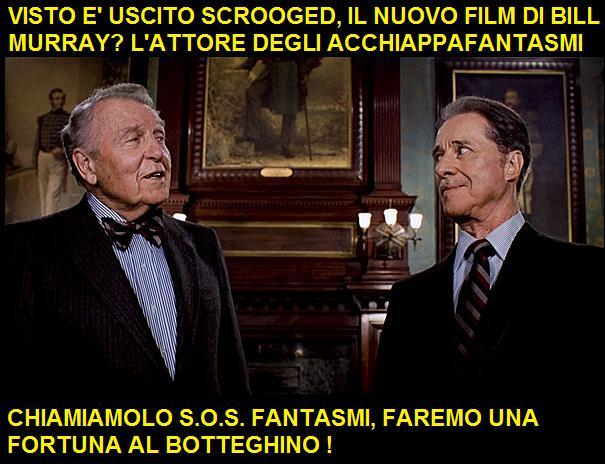 I fratelli Duke del film Una poltrona per due parlano del titolo italiano del film SOS Fantasmi