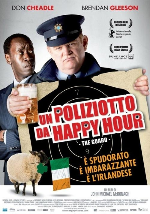 Locandina italiana di Un poliziotto da Happy Hour, the guard