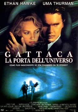 locandina italiana di Gattaca, la porta dell'universo