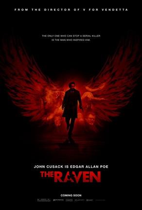 locandina del film The Raven con John Cusack
