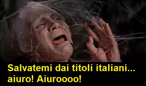 Vignetta sulla traduzione dei titoli italiani nei film