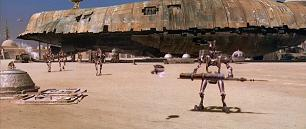 Una scena in CGI dalle edizioni speciali di Guerre stellari del 1997
