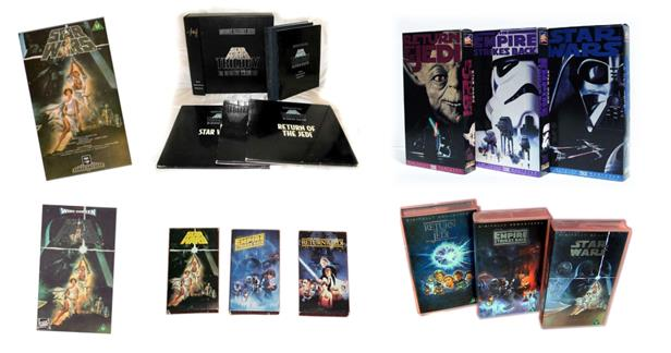Star Wars home video releases