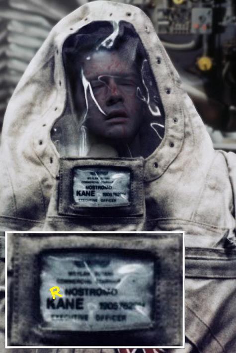 Il defunto Kane dalla scena tagliata di Aliens 1986