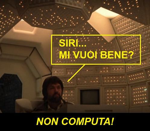 Computer MATER nel film Alien