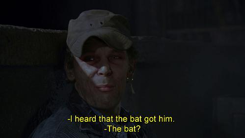 il pi-che? Battuta dal doppiaggio di Batman 1989