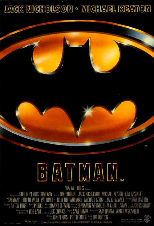 Locandina di Batman 1989