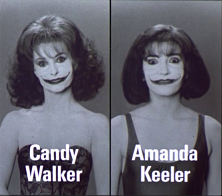 modelle uccise dai prodotti del Joker nel film Batman 1989