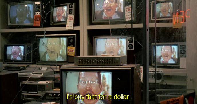 allora vi compro io per un dollaro! Sketch televisivo da Robocop 1987