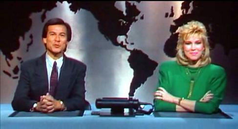 Telegiornale dal film Robocop del 1987