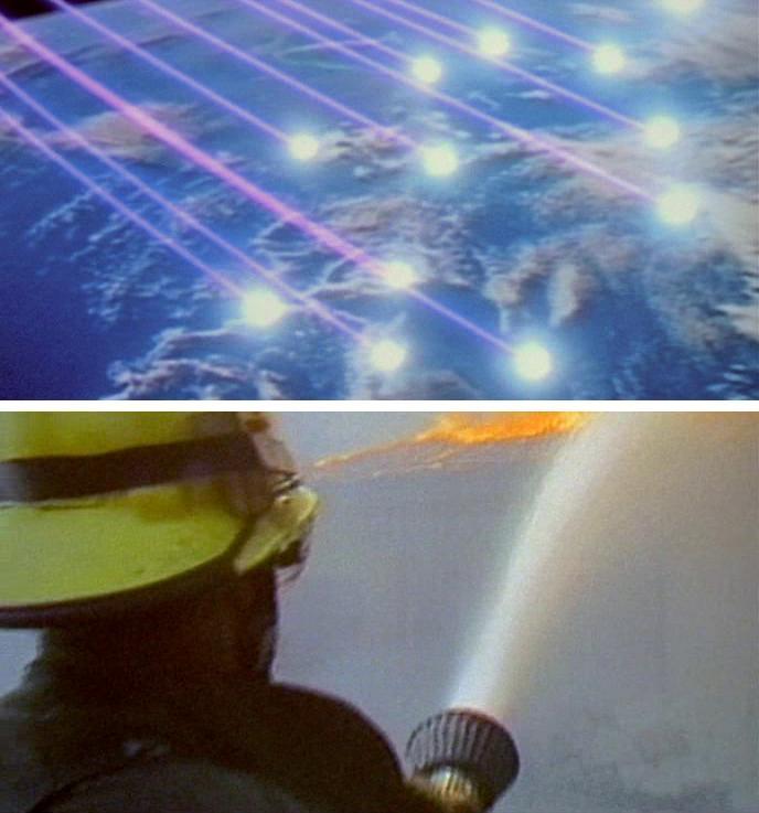 Scudo missilisitco Guerre Stellari dal film RoboCop 1987