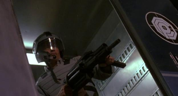Riqualificatori della OCP in Robocop 3