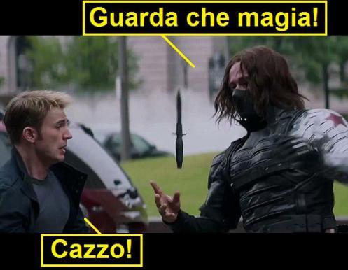 Captain America is magic