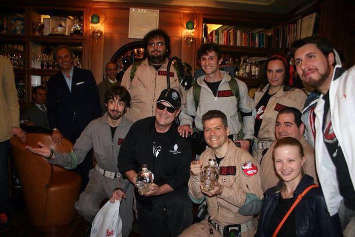 """Membri di """"Ghostbusters Italia"""" incontrano Dan Aykroyd"""