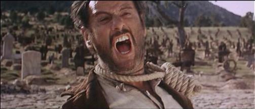 Scena finale del film Il buono, il brutto e il cattivo, quando Eli Wallach urla: Ehi Biondo, lo sai di chi sei figlio tu??? Sei figlio di una grandissima PUTTA-