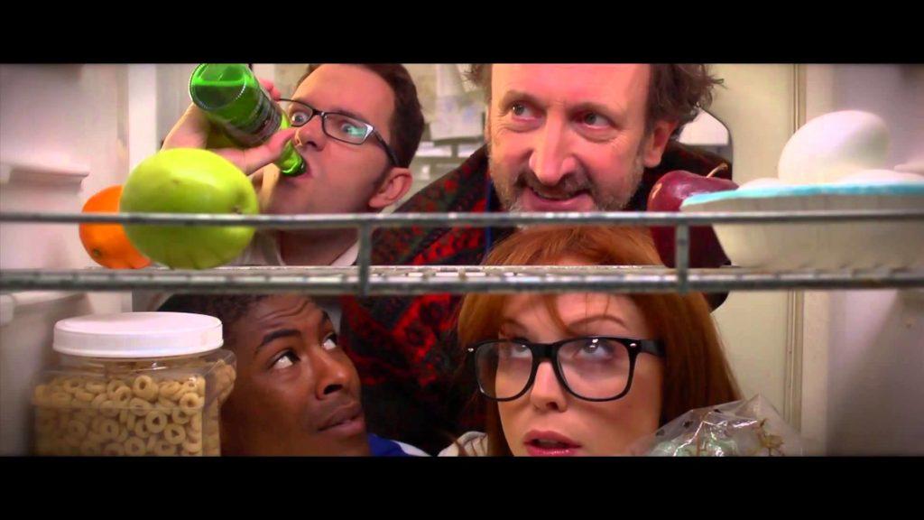 AVGN the movie una scena dal film le facce nel frigorifero