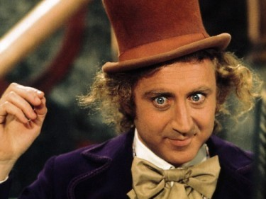 Gene Wilder nei panni di Willy Wonka