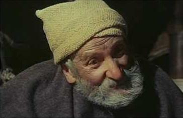 Joseph Egger nei panni di Profeta, nel film Per qualche dollaro in più