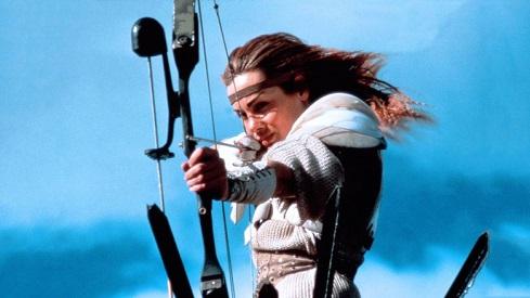 Donna arciere da Interceptor il guerriero della strada