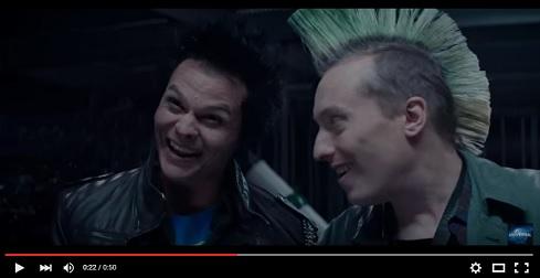 Nuova versione della scena dei punk in Terminator Genisys