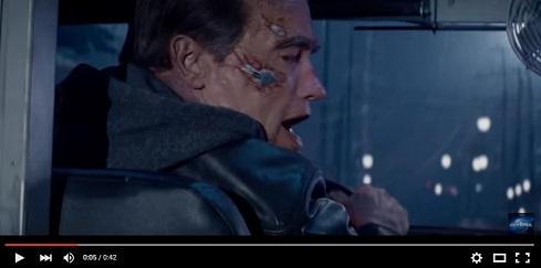 Terminator che esclama: siamo stati recuperati