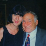 Daniela Catelli e Mel Brooks