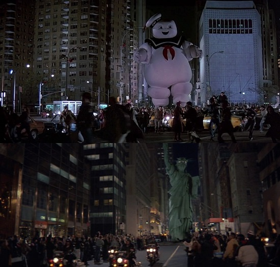 ghostbusters 2 similarities