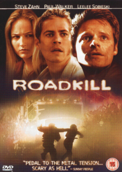 DVD britannico con titolo Roadkill
