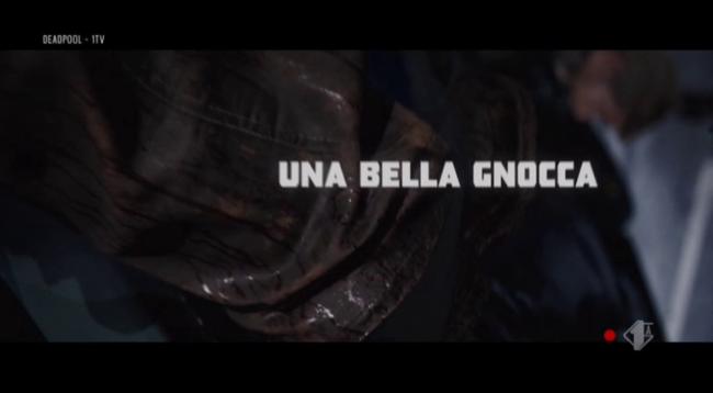 Titoli di testa in italiano di Deadpool: una bella gnocca