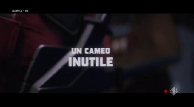 Titoli di inizio di Deadpool in italiano: un cameo inutile