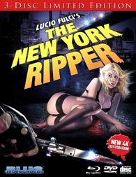 Blu-Ray di Lo squartatore di New York, nuova edizione rimasterizzata in 4k dalla Blue Underground