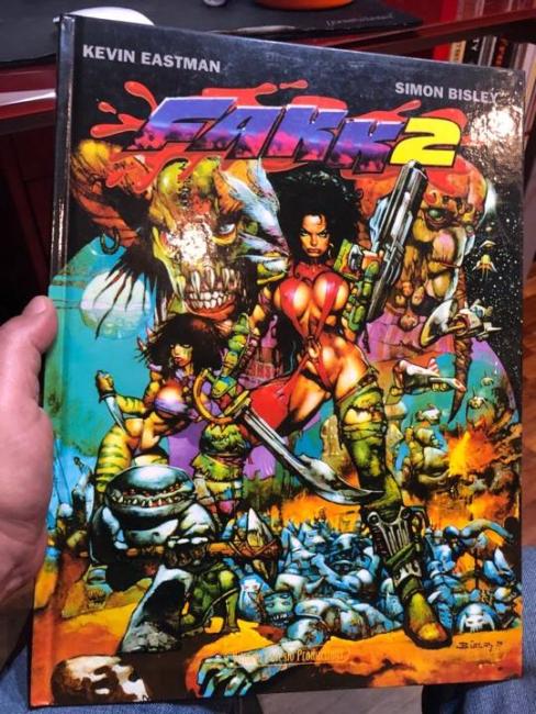 Heavy Metal FAKK2 l'adattamento a fumetti del film (copertina)