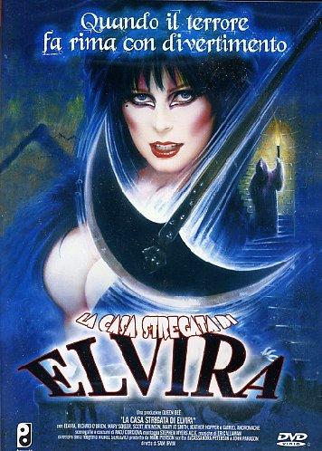 Copertina DVD di La casa stregata di Elvira (2001)