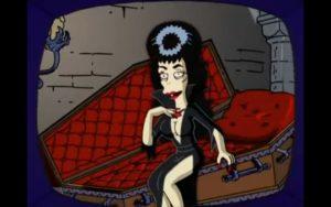 Personaggio di Booberella o Popparella dalla serie i Simpson