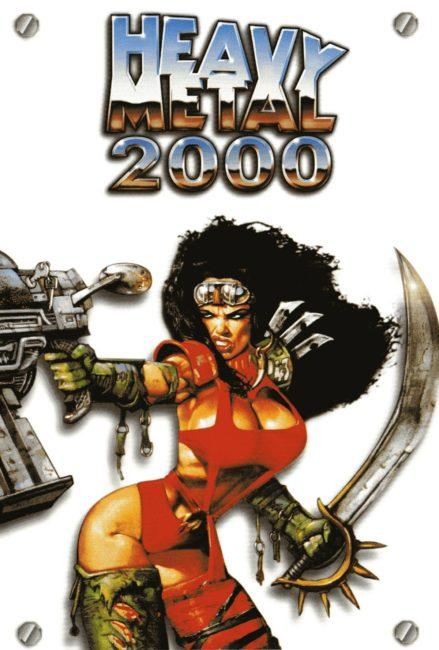 Heavy Metal 2000 locandina del film