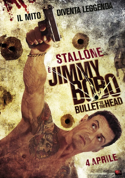 Locandina italiana di Jimmy Bobo Bullet to the Head con Sylvester Stallone