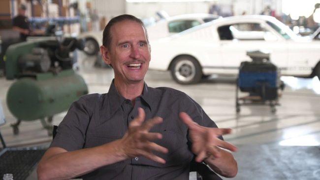 Ray McKinnon intervistato sul set del film Le Mans '66 - La grande sfida in cui viene chiamato Pops