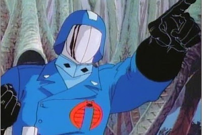 Cobra Commander o comandante cobra, dal cartone di G.I. Joe