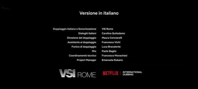 Direttore di doppiaggio e dialoghi nel secondo doppiaggio Netflix di L'altra metà (2020)