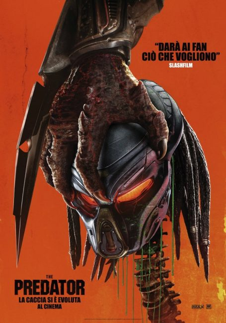 locandina italiana del film The Predator (2018)