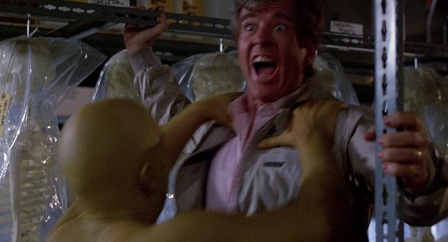 Scena dal film Il ritorno dei morti viventi 1985