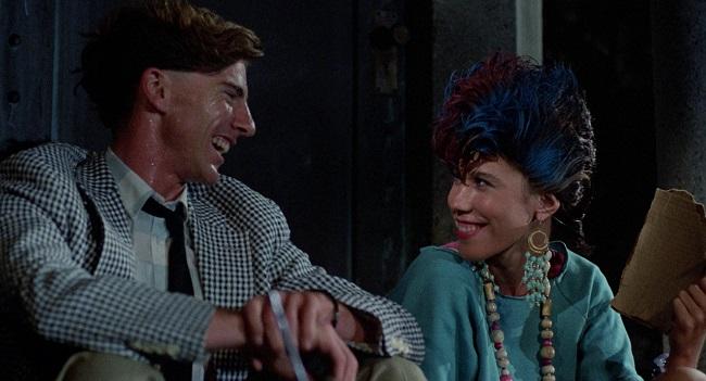 Una scena dal film Il ritorno dei morti viventi 1985