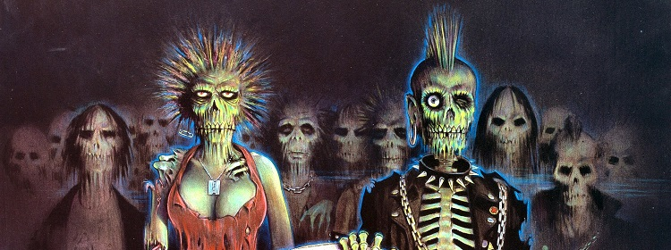 artwork Return of the living dead 1985