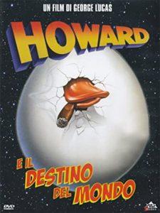 copertina DVD di Howard e il destino del mondo
