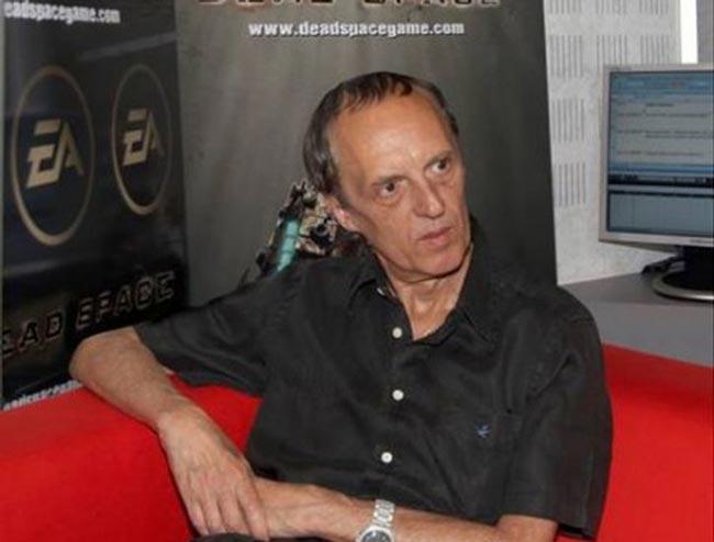Dario Argento come doppiatore in Dead Space