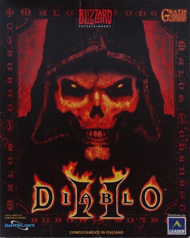 Scatola di Diablo II per PC e doppiato in italiano