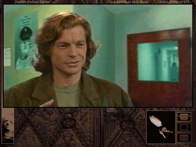 Schermata di gioco da Gabriel Knight 2